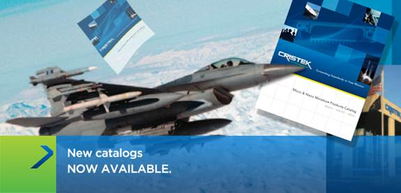 New catalogs NOW AVAILABLE (For aerospace and defense electronic connectors)